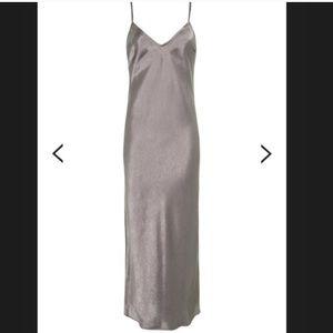 NWT topshop satin slip dress